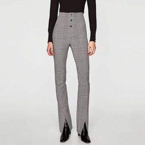Zara check pants!